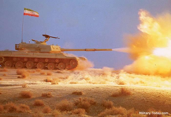 «Зульфикар» основной танк иранской армии
