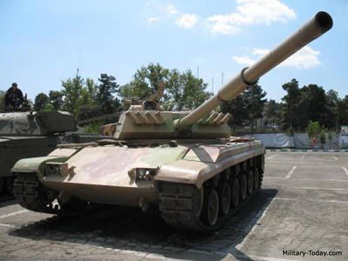 """परिवार के मुख्य युद्धक टैंक """"जुल्फिकार"""" (ईरान)"""