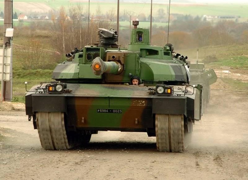 """프랑스 인은 새로운 """"증가 된 힘""""140-mm 탱크 총을 만들었습니다"""