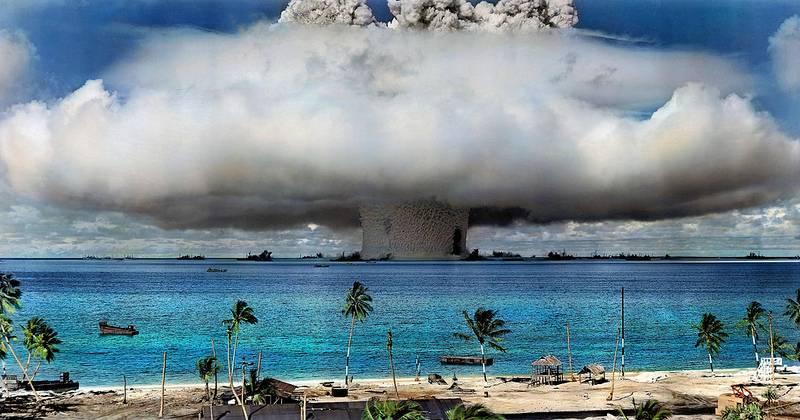 핵 억지력에 대한 해적 강도