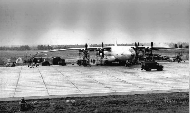 """An-22 : """"플라잉 대성당""""소련의 국가. 4의 일부"""