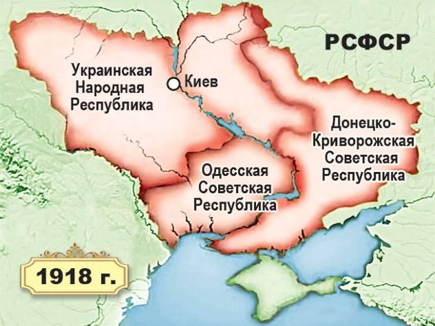 Бутафорские украинские государства времён Гражданской войны. Часть 3