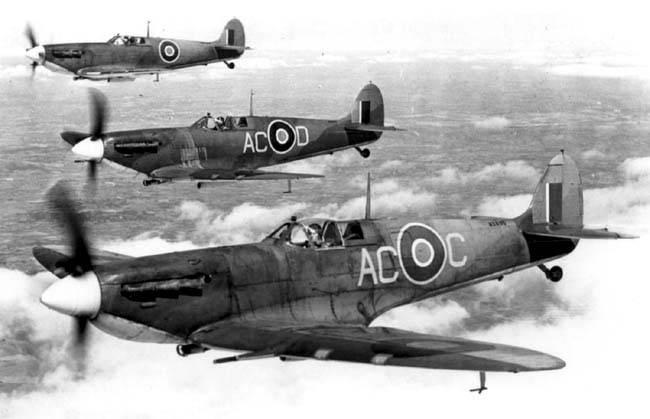 Боевые самолёты. Палубные истребители