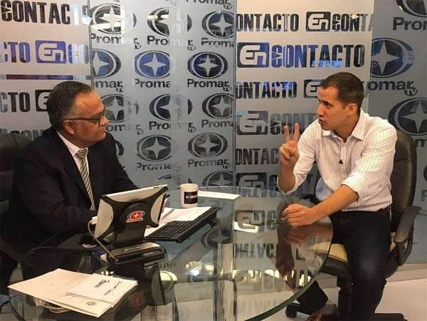 """Guaido a annoncé une réunion """"secrète"""" avec l'armée du Venezuela"""