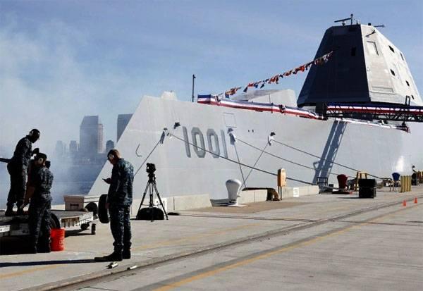 """संयुक्त राज्य अमेरिका की नौसेना ने """"सबसे कुशल"""" जहाज को अपनाया"""