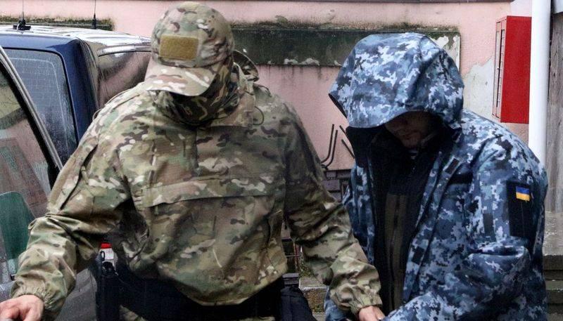 Tre marinai ucraini feriti sono stati trasferiti da un'unità medica a un centro di detenzione preventiva