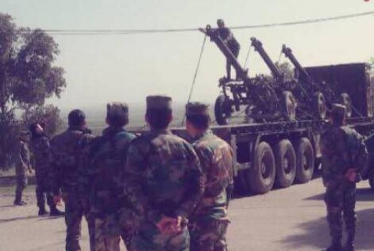 L'armée syrienne a transféré les mortiers lourds M-160 à Ham
