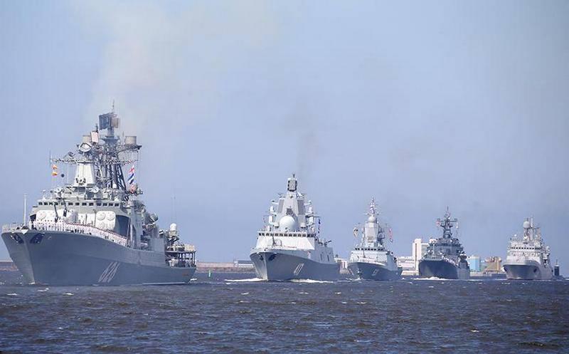 Analista británico apreciaba las capacidades de la Armada de Rusia.