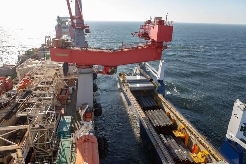 Nord Stream-2 가스 파이프 라인은 연말까지 완전히 건조 될 것입니다.