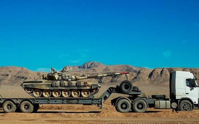 T-72Sはイラン軍で最も近代的な戦車です