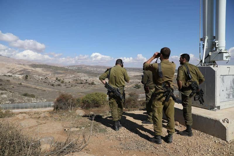 लंदन में, इज़राइल की सीमा पर ईरानी बलों के हस्तांतरण पर सूचना दी