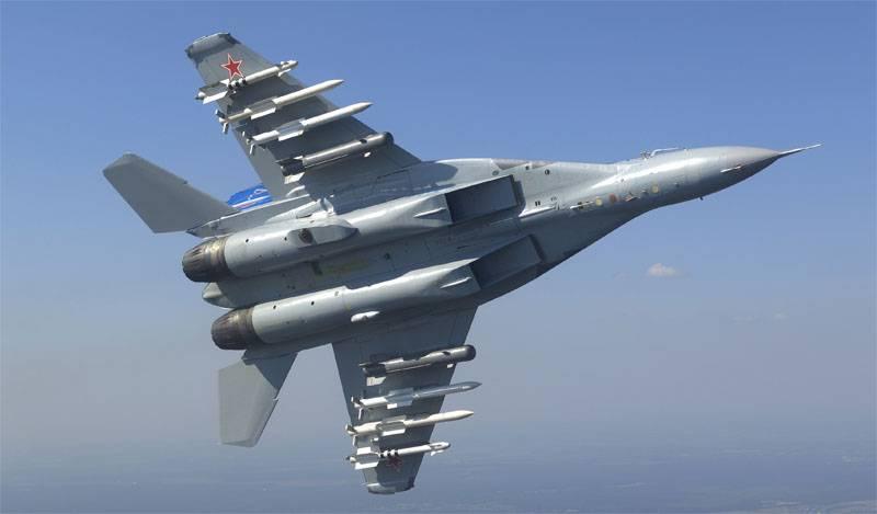 인도는 Su-35 또는 MiG-35 인수의 관련성에 대해 이야기했다.