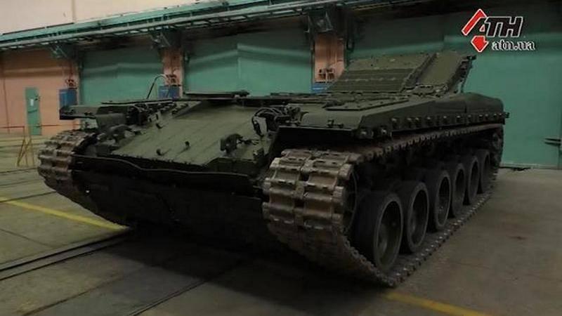 """यूक्रेनी टैंक बीएम """"ओप्लॉट"""" अमेरिकी सेना तक कभी नहीं पहुंचे"""