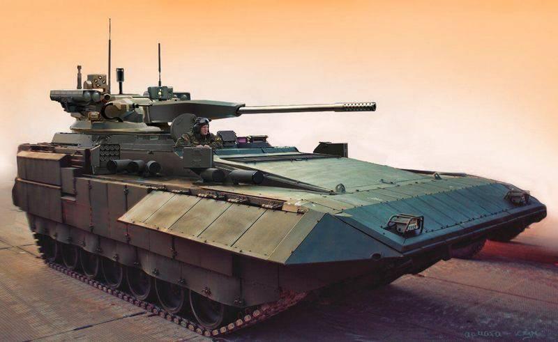 """Il nuovo """"Terminator"""" sulla base di """"Armaty"""" armerà 57-mm con """"infernali trebbie"""""""