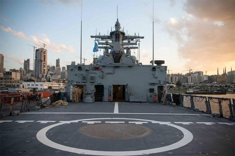 Kiev prometió considerar la presencia de la Armada alemana en el Mar Negro