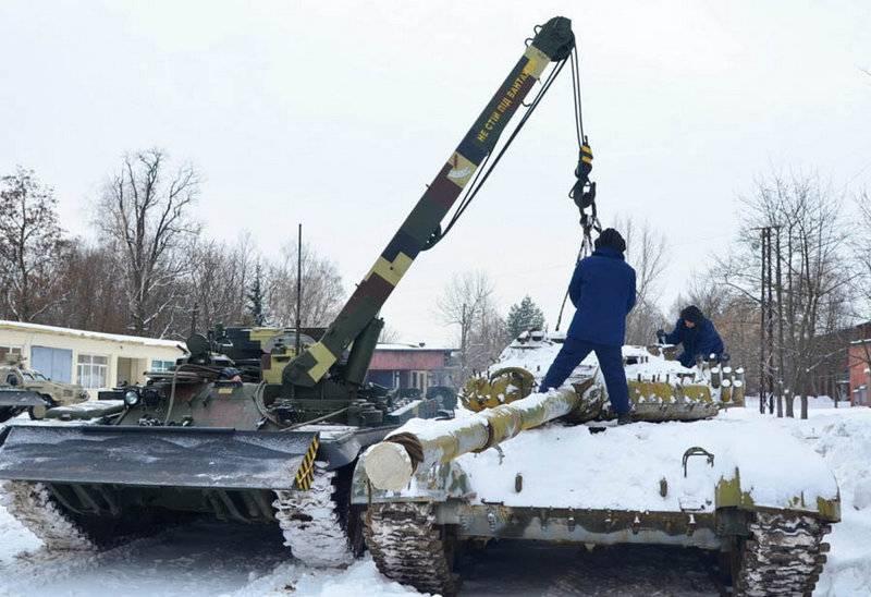 """Las Fuerzas Armadas de Ucrania están adoptando el nuevo """"Lev"""" BREM, desarrollado en Lviv"""