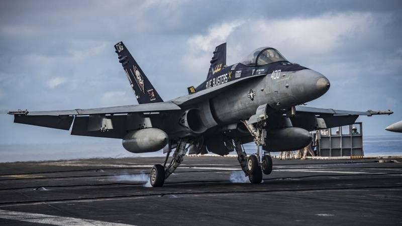 La marine américaine a annoncé l'annulation du dernier chasseur F / A-18C Hornet