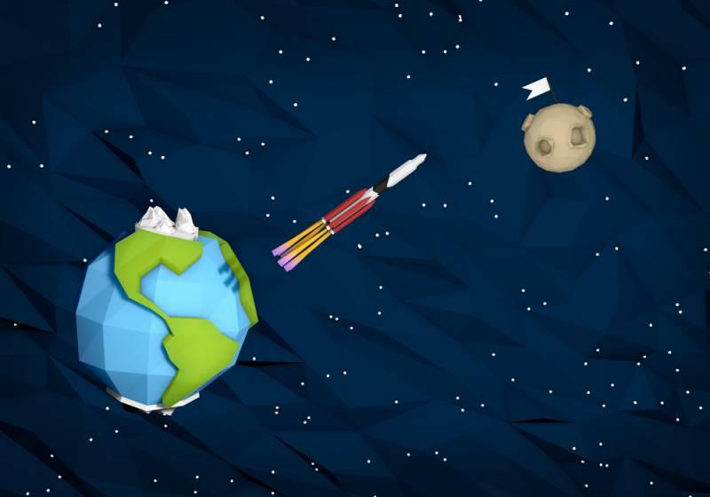 Россия построит лунную версию «Союза» за свой счёт