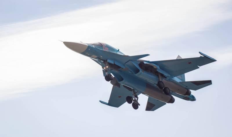 СМИ: погибшие пилоты Су-34 запутались в парашютах