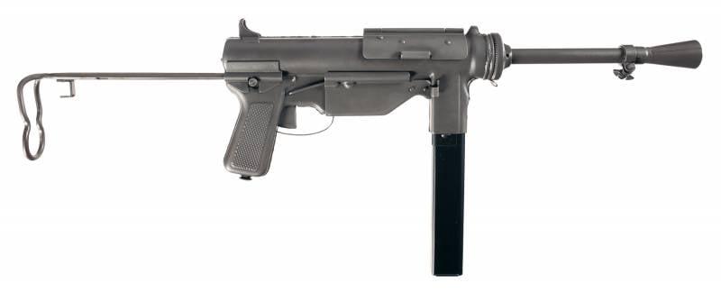 Дешёвая замена «Томпсону»: пистолет-пулемёт M3