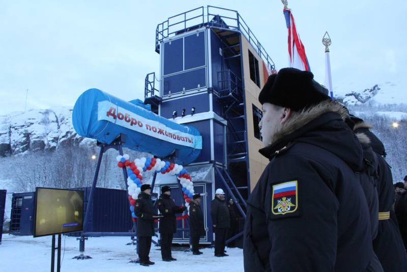 В Мурманской области открыт тренажёр для морского спецназа