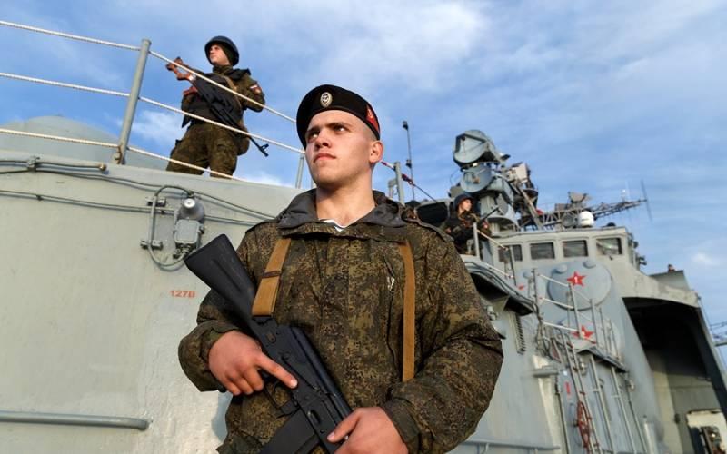 Корабли ВМФ будут охранять группы антитеррора