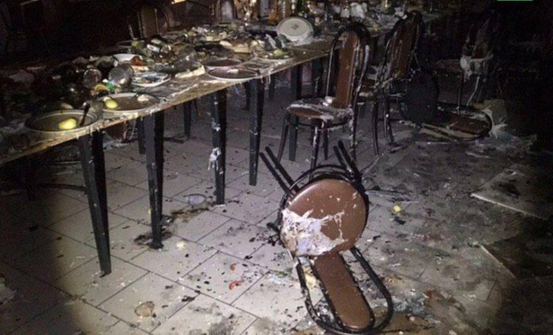В результате взрыва в кафе под Саратовом пострадали более 20 человек