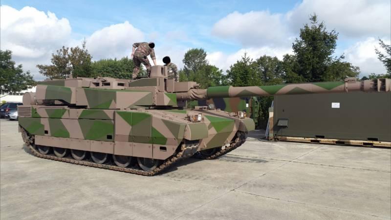 Новинки европейского танкостроения