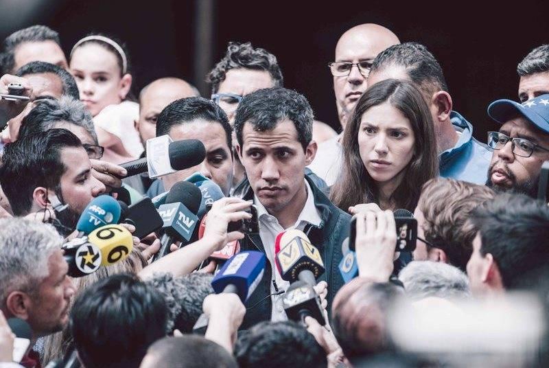 Guaydo non esclude l'intervento militare statunitense in Venezuela