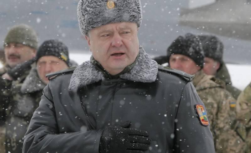 Poroshenko ha permesso al Ministero della Difesa dell'Ucraina di acquistare direttamente armi all'estero