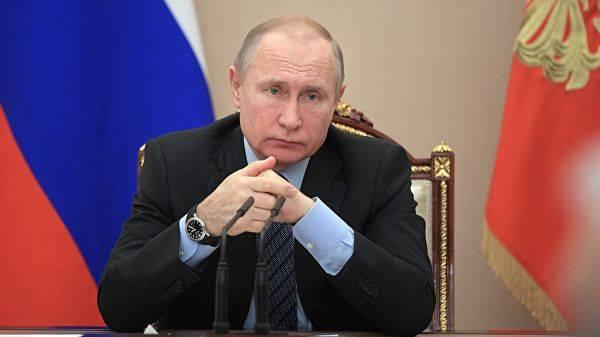 INF 조약의 채권이 재설정 됨 : 푸틴은 새로운 무기를 창안하라는 명령을 내렸다.