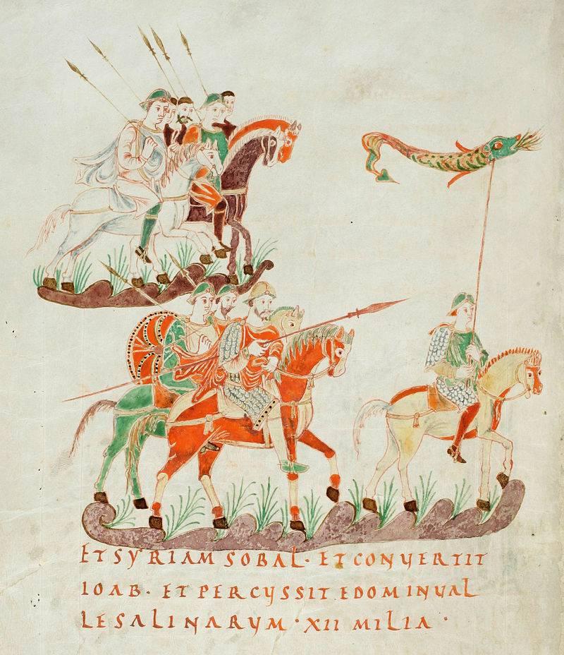 Caballeros y caballería de tres siglos. Caballero y caballeros del norte de Francia. Parte de 1