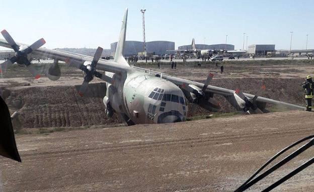 L'accident de C-130H sur une base aérienne en Israël a été causé par des techniciens d'aéronefs