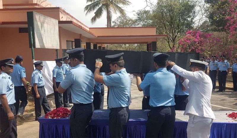Version annoncée de la cause du crash de Mirage-2000 de l'Indian Air Force