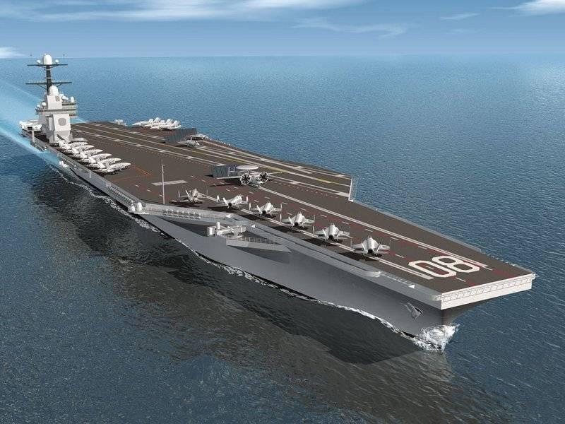 La marina americana ha firmato un contratto per la costruzione di due portaerei