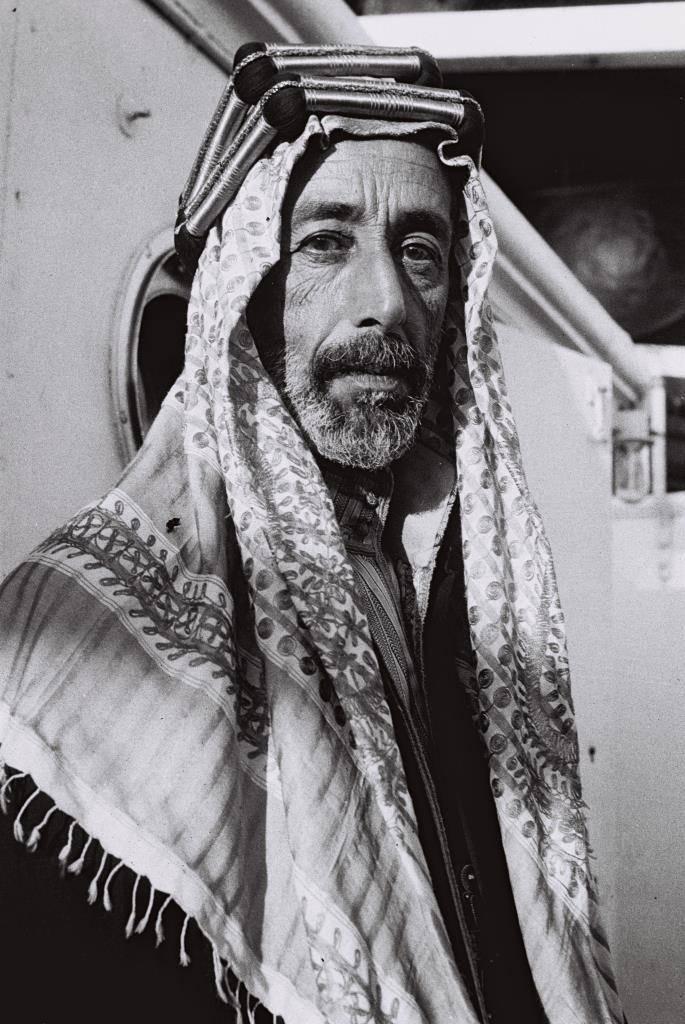 Le roi Hijaz Hussein ben Ali, l'employeur des aviateurs russes