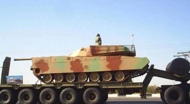 """Le Web a commencé à parler de la tentative de l'Iran de copier МХNUMX """"Abrams"""""""