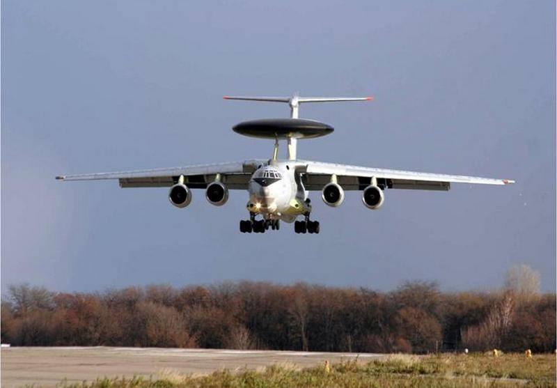 IL-76 può essere un nuovo Falcon di AWACS: DRLO per l'India