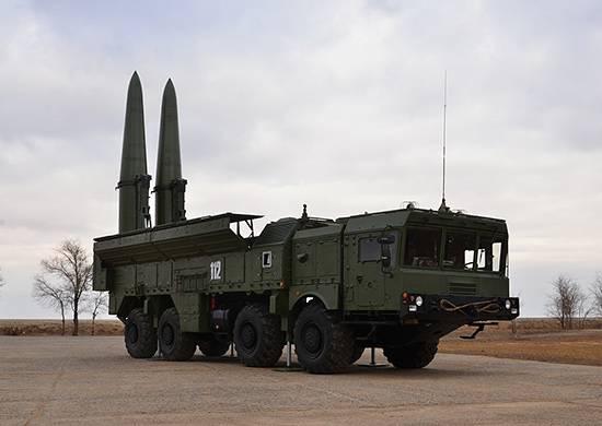 "OTRK ""Iskander""에는 새로운 미사일이 장착 될 것입니다."