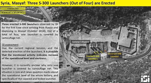 イスラエルのスパイ衛星がシリアの迷彩網の下でC-300を「発見」した