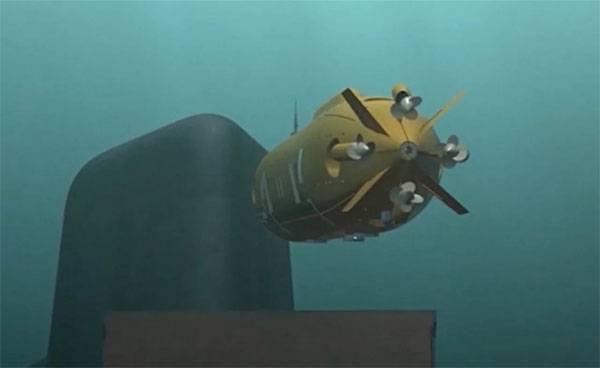 """그것은 원자력 발전소 """"포세이돈 (Poseidon)""""의 해상 시험에 대해 알려지게되었다."""