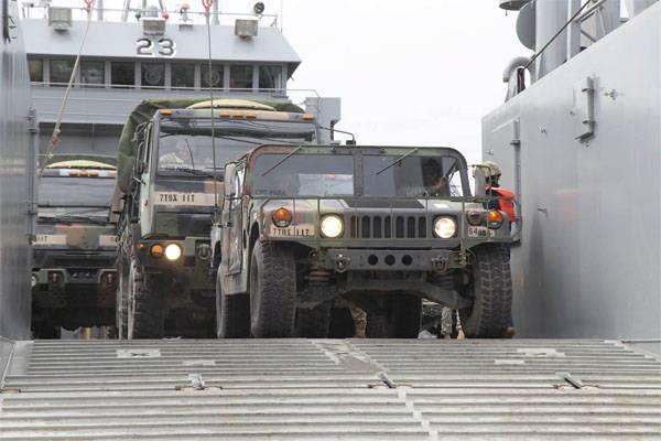 In Turchia, hanno spiegato perché gli Stati Uniti hanno trasferito attrezzature militari in Siria