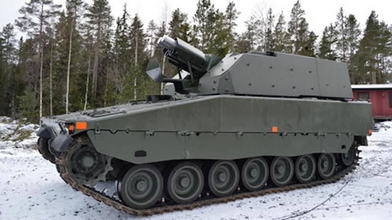 स्वीडिश सेना ने पहले स्व-चालित मोर्टार Grkpbv90 (Mjölner) प्राप्त किया