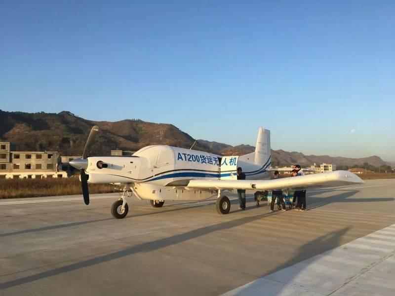 """Le drone cargo chinois AT200 """"est entré dans une série"""""""
