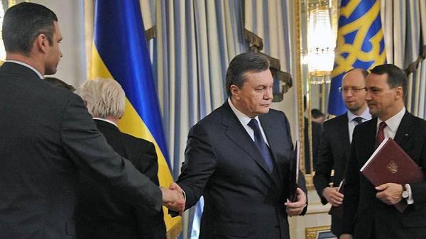 """Ianoukovitch a déclaré qu'en février 2014 evrokharanty l'avait jeté """"comme une ventouse"""""""