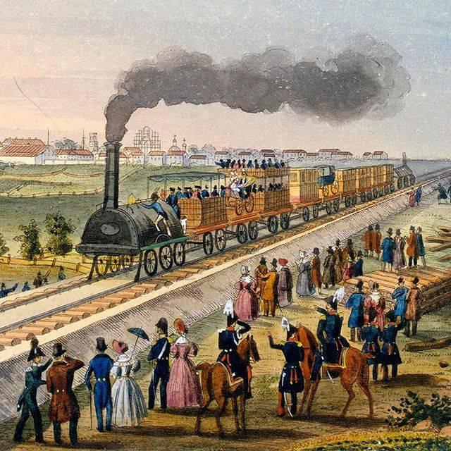L'élite de l'empire russe: la vie sur le cor de la locomotive
