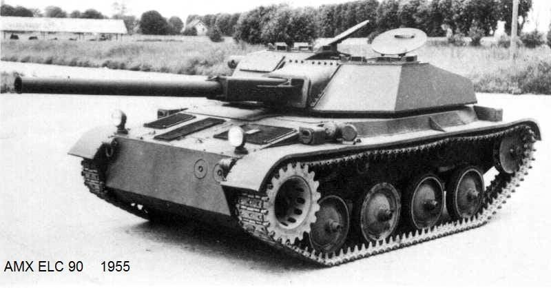 軽戦車AMX ELC(フランス)