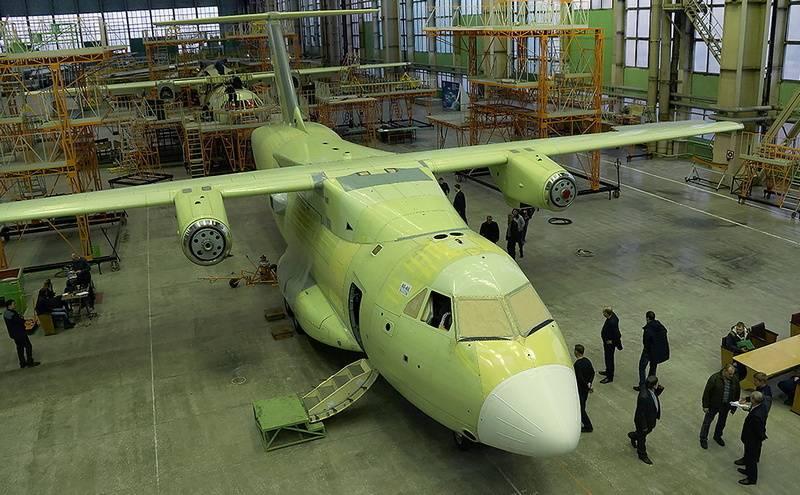 Voronezh 항공기 공장이 군용 수송기를 생산하기 위해 업그레이드 중입니다. Il-112Â