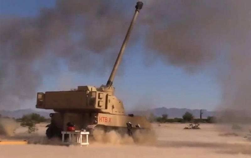 米国では100キロメートル以上の距離で榴弾砲を経験しました