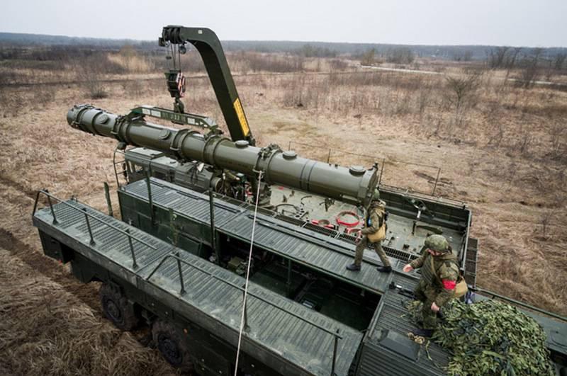 I calcoli di OTRK Iskander-M hanno completato i lanci di violatori di missili del trattato INF 9М729